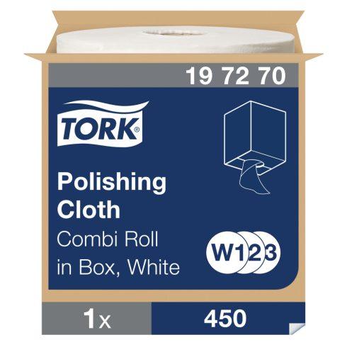 W3 197270 Tork polírozó kendő tekercses ipari papírtörlő