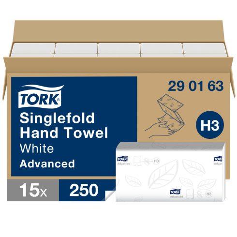 H3 290163 Tork Singlefold Soft  Z hajtogatású hajtogatott kéztörlő papírtörlő