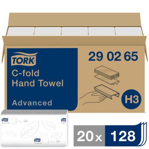 H3 290265 Tork Advanced C hajtogatású hajtogatott kéztörlő papírírtörlő (régi cikkszám:290264)