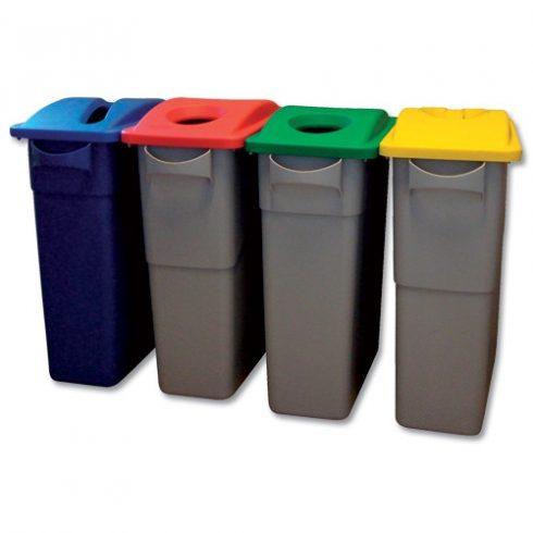 350060 Rubbermaid Szelektív hulladékgyűjtő szemetes kuka 60L