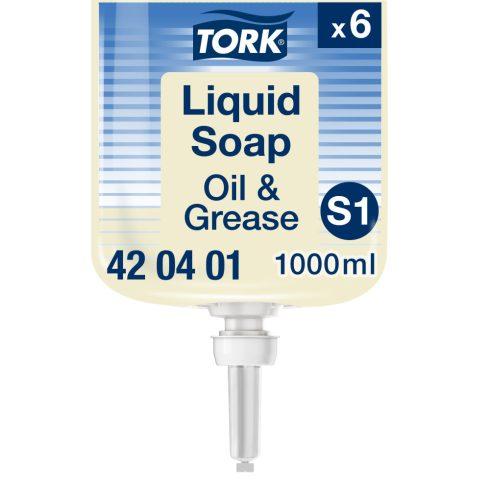 S1 420401 Tork olaj és zsíroldó ipari folyékony szappan
