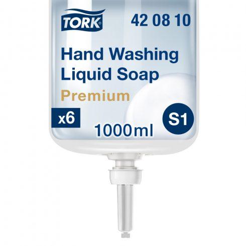 (S1) 420810 Tork Extra Hygiene folyékony szappan