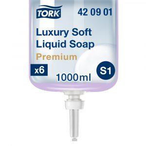 S1 420901 Tork Luxury Soft folyékony szappan