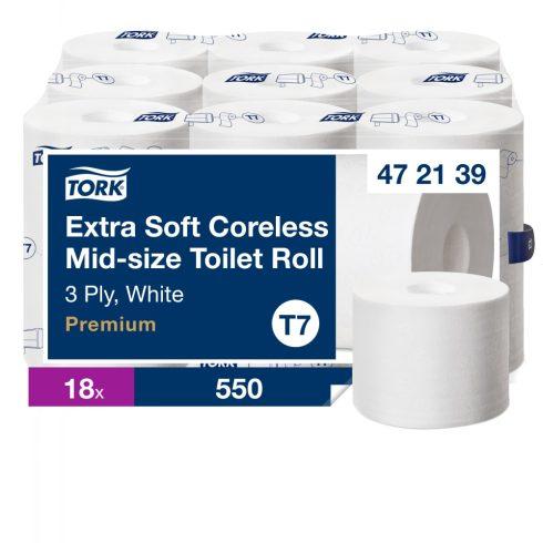 T7 472139 Tork Extra Soft belsőmag nélküli Mid-size toalettpapír