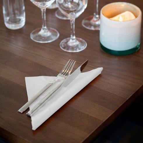 477577 Tork Soft Dinner szalvéta fehér