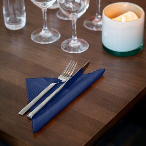 477594 Tork Soft Dinner szalvéta Sötétkék