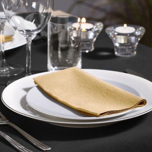 477615 Tork Soft Dinner szalvéta 1/8 Hajtott Pezsgő