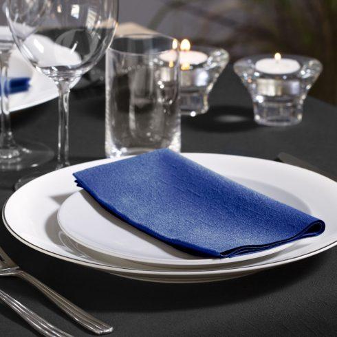 477619 Tork Soft Dinner szalvéta 1/8 Hajtott Sötétkék