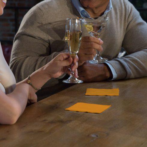 477831 Tork koktélszalvéta Narancssárga