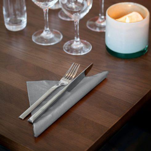 478762 Tork Dinner szalvéta Szürke