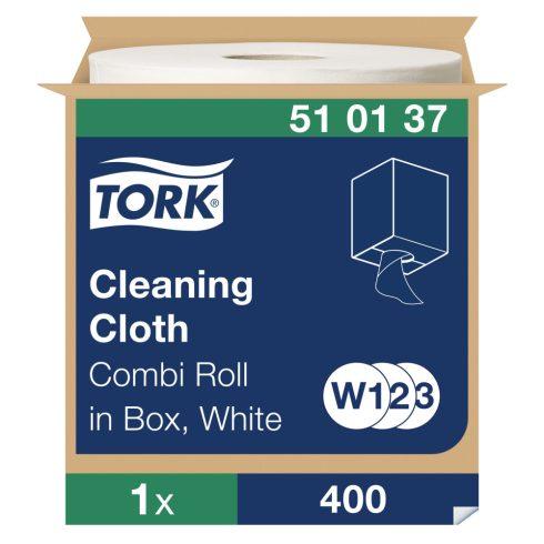 W3 510137 Tork tisztítókendő tekercses 510 ipari papírtörlő