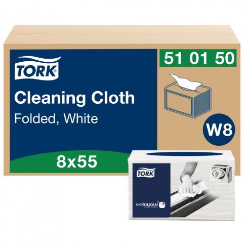 W8 510150 Tork többcélú tisztítókendő hajtogatott 510 ipari papírtörlő