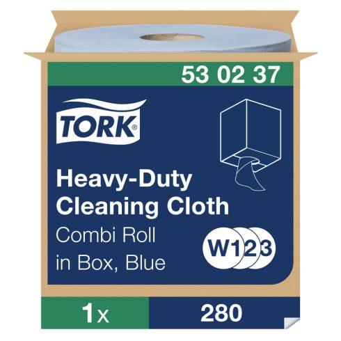 W3 530237 Tork nagy teljesítményű tisztítókendő tekercses 530 ipari papírtörlő