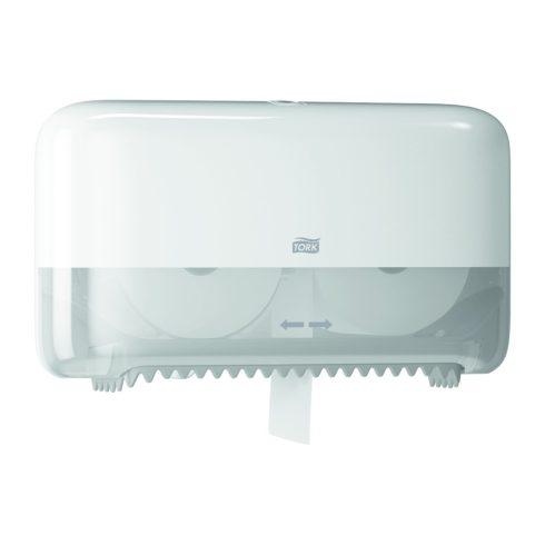 T7 558040 Tork duplatekercses belsőmag nélküli Mid-size toalettpapír-adagoló