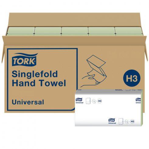 H3 66329 Tork Singlefold Z hajtogatású hajtogatott kéztörlő papírtörlő