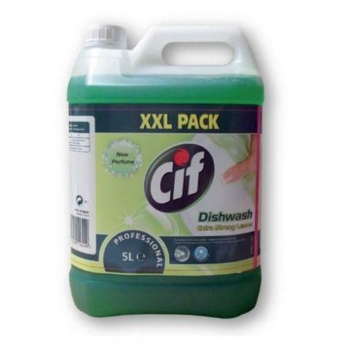 Cif Prof. Dishwash extra strong lemon-Erős zsíroldóhatású kézi mosogatószer citrom illattal (5 l)
