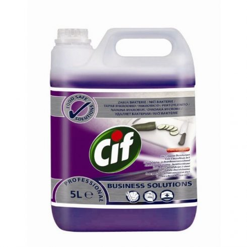 Cif. Prof. 2 in 1 Cleaner Disinfectant (5 l)