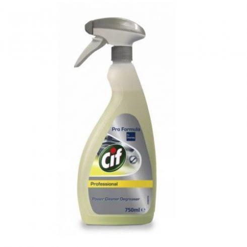 Cif Prof. Power Cleaner Degreaser Erős zsírtalanító tisztító (750 ml)