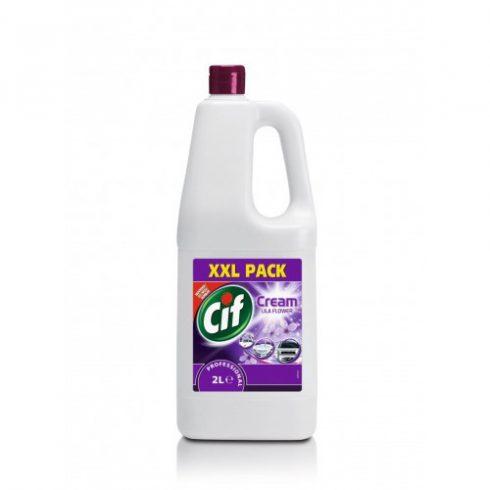 Cif Prof. Cream Lila Flower-Cif folyékony súrolószer virág illattal (2 l)