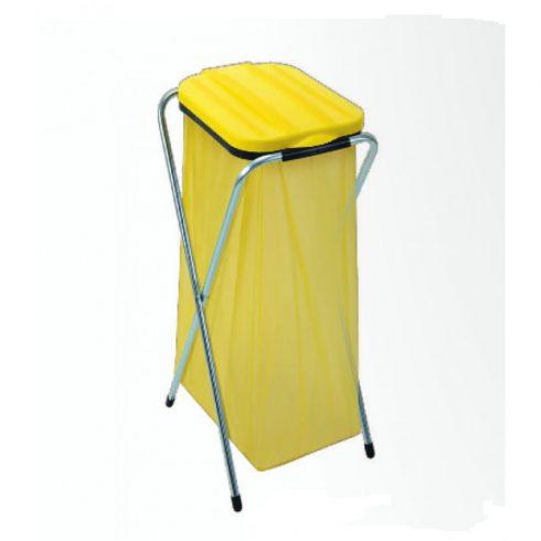 90118 Szelektív hulladékgyűjtő szemetes kuka MAXIFIX 120L Sárga