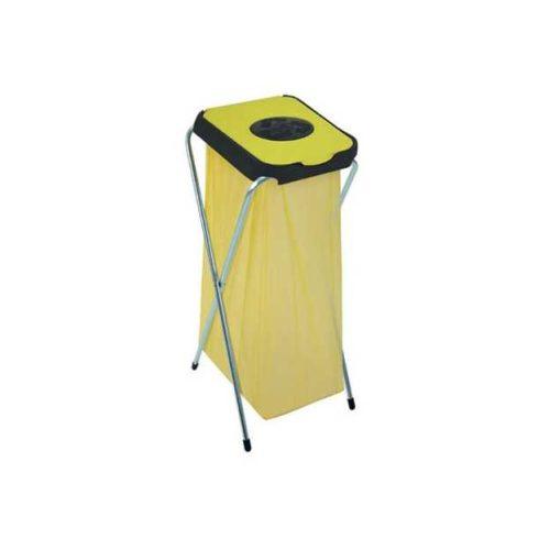 90124 Szelektív hulladékgyűjtő szemetes kuka EKO THINKS bedobónyílással 120 L