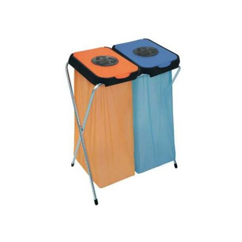 90125 Szelektív hulladékgyűjtő szemetes kuka EKO THINKS bedobónyílással 240 L