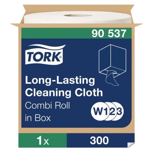 W3 90537 Tork többször használható tisztítókendő tekercses ipari papírtörlő