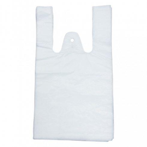 INGVT17 Ingvállas táska szatyor fehér