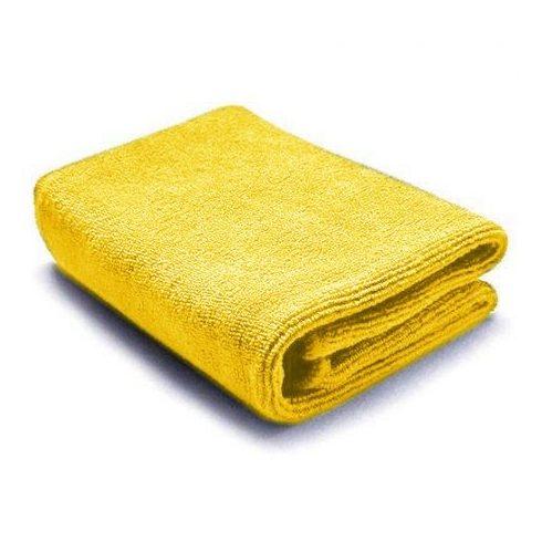 Mikroszálas törlőkendő Sárga