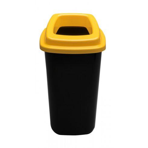 PL680-01 Plafor Sort szelektív hulladékgyűjtő szemetes kuka 45L sárga
