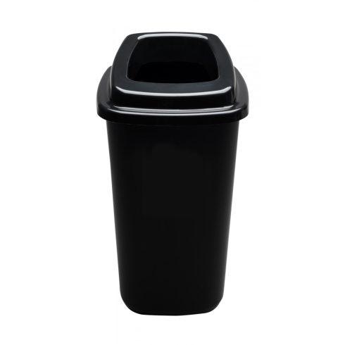 PL680-08 Plafor Sort szelektív hulladékgyűjtő szemetes kuka 45L fekete