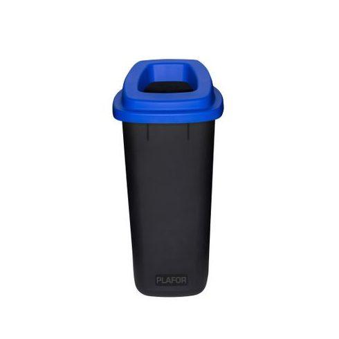 PL705-03 Plafor Sort szelektív hulladékgyűjtő szemetes kuka 90L kék