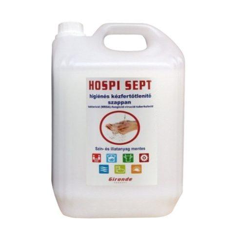 T0172 HOSPI SEPT kézfertőtlenítő folyékony szappan 5 liter (5L)