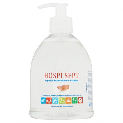 T0678 HOSPI SEPT kézfertőtlenítő folyékony szappan pumpás 0,5 liter (0,5L fertőtlenítő)