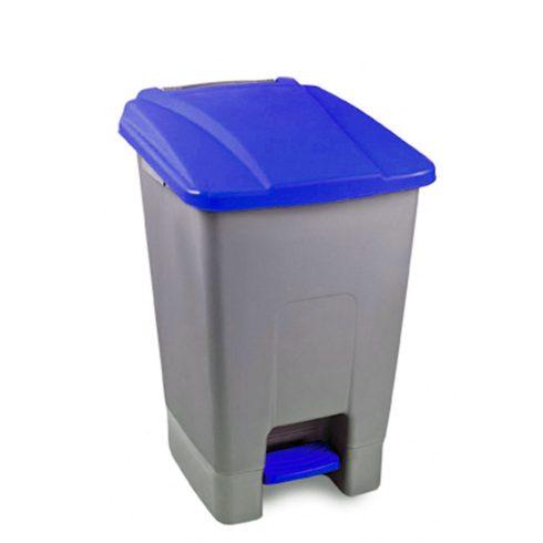 UP210K Szelektív hulladékgyűjtő szemetes kuka pedálos 70L kék
